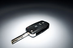Car key on dark background Royalty Free Stock Photos