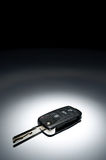Car key on dark background Stock Image