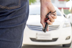 Car-key exchange Stock Image
