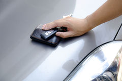 Car-key exchange Stock Images