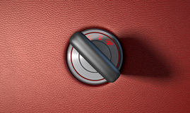 Car Key In Ignition Royalty Free Stock Photo