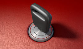 Car Key In Ignition Stock Images
