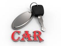 CAR key illustration Royalty Free Stock Image