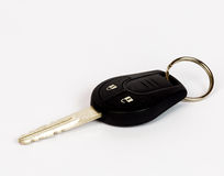 Car key. Image of a car key on a white background Stock Photography