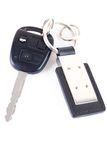 Car key isolated Stock Image