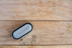Car Key on old wood table background Royalty Free Stock Photo