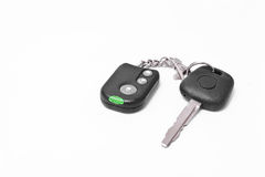 Car key with pager alarm Royalty Free Stock Photography