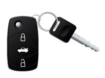 Car key with remote stock illustration