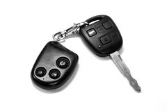A car key with remote Stock Images
