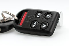 Car key remote close up Stock Images