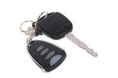 Car key and remote control Stock Image
