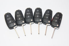 Car key with remote control Royalty Free Stock Image