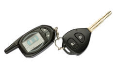 Car key and remote control Stock Photography