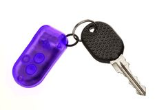 Car key with remote control Stock Photo