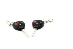 Car key with remote control Stock Images