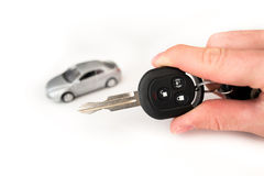 car key with remote control Stock Photography