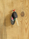 Car key with remote control Royalty Free Stock Photo