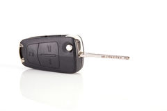 Car key with remote control Royalty Free Stock Images