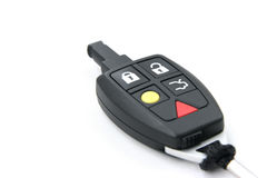 Car key remote, diagonal view Royalty Free Stock Photography