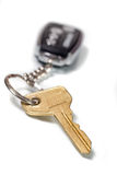 Car key with remote entry Royalty Free Stock Images