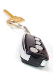 Car key with remote entry Stock Photo
