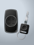 Car key and remote with functions Royalty Free Stock Photo