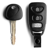 Car Key and Remote Royalty Free Stock Photo