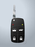 Car key with remote security functions Royalty Free Stock Photo