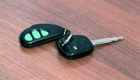 Car key with remote Royalty Free Stock Photography