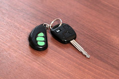 Car key with remote Royalty Free Stock Image