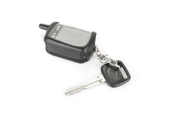 Car key and security system Stock Image