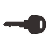 Car key symbol Royalty Free Stock Photo
