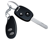 Car key with trinket Stock Photography