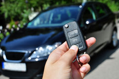 Car key Royalty Free Stock Images