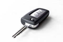 Car key. On a white background Royalty Free Stock Photography