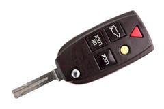 Car Key on White Stock Photo