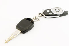Car keyand remote control Stock Images