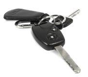 Car keys. Objects isolated on white background Royalty Free Stock Photo