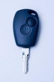 Car keys. Closeup of a black car key Royalty Free Stock Images