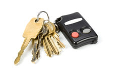 Car keys Royalty Free Stock Photography