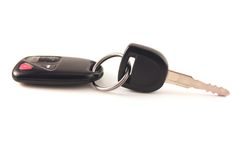 Car Keys. A set of car keys stock photography