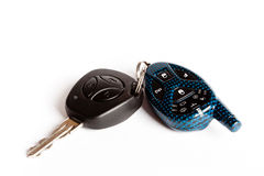 Car keys with the alarm system Stock Images