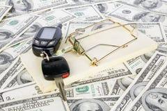 Free Car Keys And Money Royalty Free Stock Image - 21439366