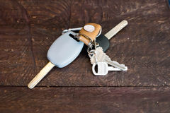 Car keys. Stock Photos