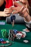Car keys closeup Stock Photo