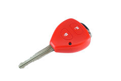 Car keys. Car control switch white Stock Photo