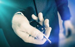Car Keys Delivery Royalty Free Stock Images