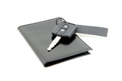 car keys and documents Stock Photography