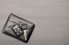 Car keys and documents Royalty Free Stock Image