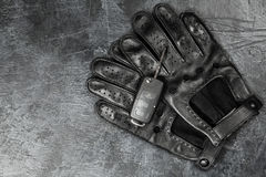 Car keys and driving gloves Royalty Free Stock Photography